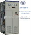 400v 50hz 150kvar-2400kvar scr de alta- velocidad de tres fases del banco de condensadores
