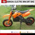 500w, 24v électrique mini dirt bike