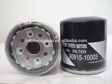 El precio de fábrica y la mejor calidad del filtro de aceite 90915-10003 para los coches de toyota