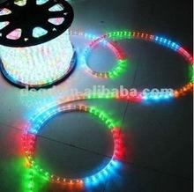 Led luz de la cuerda ( ronda 2 alambre )/lámparas