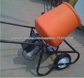 Eléctrico Mini mezclador concreto portable con el tambor plástico 120L