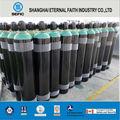 industrial cilindro de gás de aço sem costura cilindro de gás argônio