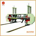 MJ3709 máquina de sierra de cinta automática horizontal