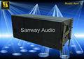 Line array equipo de sistema de sonido Aero 12A de funcionamiento de la etapa
