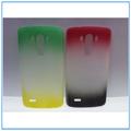 Para lg caso g3, personalizado delgada suave gel de tpu caso para lg g3 2014 chica de la cubierta