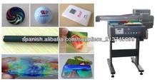 Impresora UV digital A2/ Impresora UV multifunciónal por vidrio,madera,cuero,plástico,cerámica,métal NC-UV0406