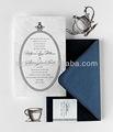hermosa mariposa de lujo de la boda tarjetas de invitación de venta al por mayor
