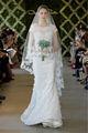 encaje blanco vestido de sirena de la boda 2013