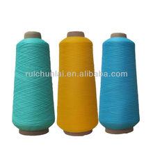 100% de nylon teñido de hilo elástico
