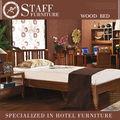 2014 gran venta caliente exóticos de madera elegantes modelos de cama