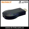 Con Miracast, DLNA,Airplay funciones Google Chrome hdmi elenco de streaming media player