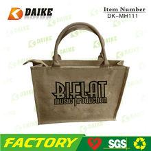 bolsas yute, sacos yute, Bolsa de compras de yute SP-DK-MH111