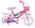 lindo mini bici de niña favorita en bicicleta