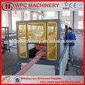 produzimos paletes móveis moldura da janela de piso de madeira composto plástico projeto turnkey palete wpc que faz a máquina