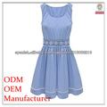 vestidos azules de las señoras