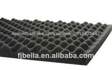 Acústica de huevo- cajón de espuma insonorizadas panel de espuma negro