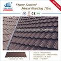 chino de metal para techos de piedra recubiertos con chapa galvanizada para techos de metal