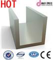 vidrio de aluminio canal