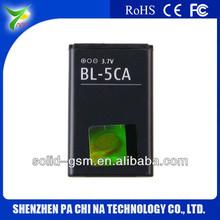 Largo lastig bl-5ca teléfono moile de la batería, 3.7v batería de litio