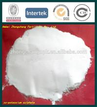 Sop blanco en polvo de potasio 0-0-50 fertilizantes sulfato de potasio
