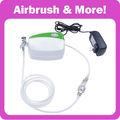 Portátil kit de aerógrafo para alimentos pastel decorar 1pc mini compressor+1pc aerógrafo aerógrafo airbrush