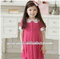 de vestidos de verano rojo/negro doble- de algodón pecho ropa de niños de china al por mayor de la princesa de hadas dress2014