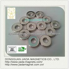Anillo de magnetización radial imanes potentes altavoces de neodimio Imanes