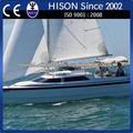 hison fábrica de venta directa de la costera de alta velocidad de barco de vela barco de vela china