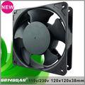2014 Nova 120 milímetros ac axial ventilador de refrigeração de ventilação para painel de controle