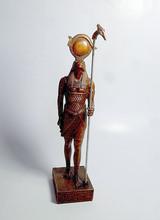 El antiguo egipto dios horus estatua, la escultura