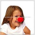 El grande rojo de la nariz, nariz de payaso, la nariz de espuma