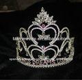 venta al por mayor de diamantes de imitación tiaras y coronas