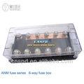 6 anm pc caja de fusibles auto/titular para camiones/comercial de autobús 24v