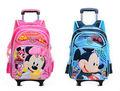 Nueva Moda Trolley niños Mochila para Niñas mochilas escolares con ruedas