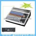 Mezcladores de audio para la venta! 10 canales estéreo de audio mezclador con amplificadores( pv10p)