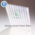 China fabricante 100% material de la pc de triple pared de lámina de plástico para la cúpula de la construcción