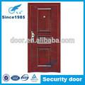 china confiable proveedor de metal exterior de acero puerta de seguridad