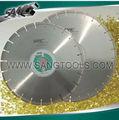 diamante hoja de sierra,disco de corte de diamante para el granito