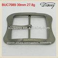 buc7989 comba de aleación de plata rectangulares hebilla de cinturón