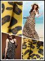 100% imprimé. bambou, rayonnes robe en tissu et du vêtement