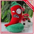 fiery pimienta 20cm plantas vs zombies de juguete de felpa