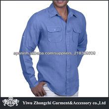 camisa de lino de los hombres 2013