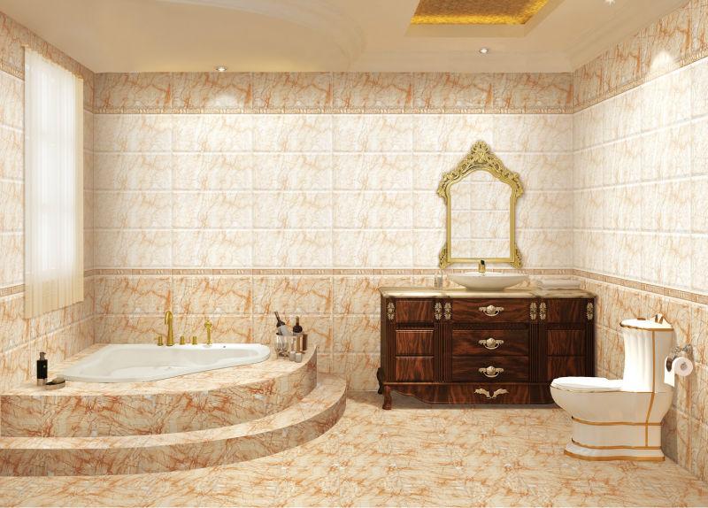 Losetas Para Baño Porcelanite:12X24 nuevos diseños de baño de azulejos de la pared China