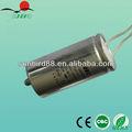 de la lámpara ahorro de energía eléctrica condensadores