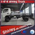 4*4 chasis de camión, 4dw camión de carga, chasis 3300mm