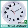 10 pulgadas baratos de plástico reloj de pared para la venta