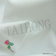 China venda quente branco 233tc 100% algodão downproof tecido para lençol