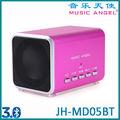 MUSIC ANGEL Caixa De Som Portátil Bluetooth com Micro TF