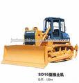160hp shantui bulldozer sobre orugas sd16; hidráulica de las cadenas bulldozer shantui sd16