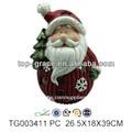 resina santa cláusula de 2013 decoración de la navidad